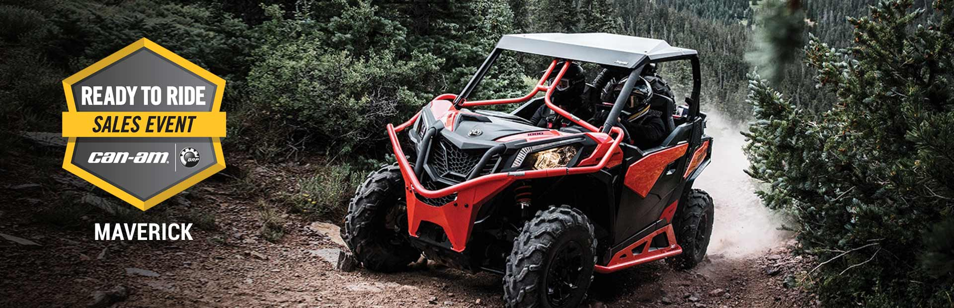 Can-Am: Ready to Ride Sales Event - MAVERICK